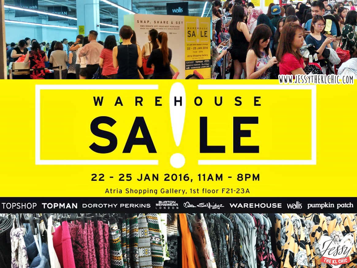 TOPSHOP, TOPMAN, DOROTHY PERKINS WAREHOUSE SALE