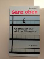 Buchcover; Aus dem Leben einer weiblichen Führungskraft; C.H. Beck
