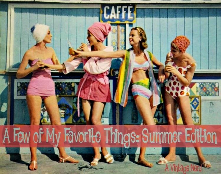 A Vintage Nerd, Retro Fashion Blog, Vintage Blog, Vintage Lifestyle Blog, My Favorite Things