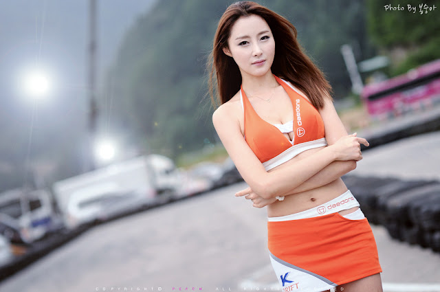 1 Eun Bin Yang at CJ SuperRace R4 2012-Very cute asian girl - girlcute4u.blogspot.com