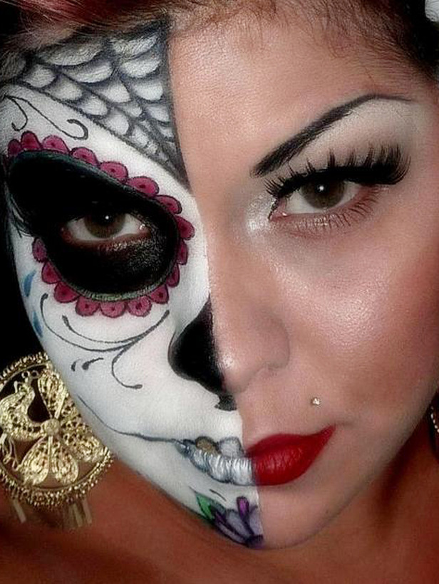 Halloween Skeleton Makeup Ideas Ideas 2012