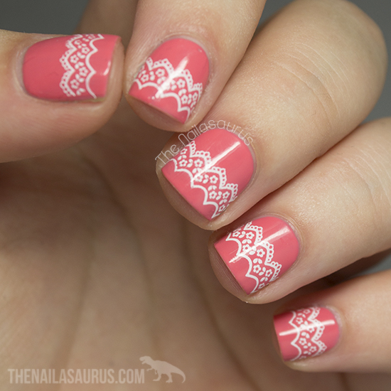 Snippet: Lace Stamping