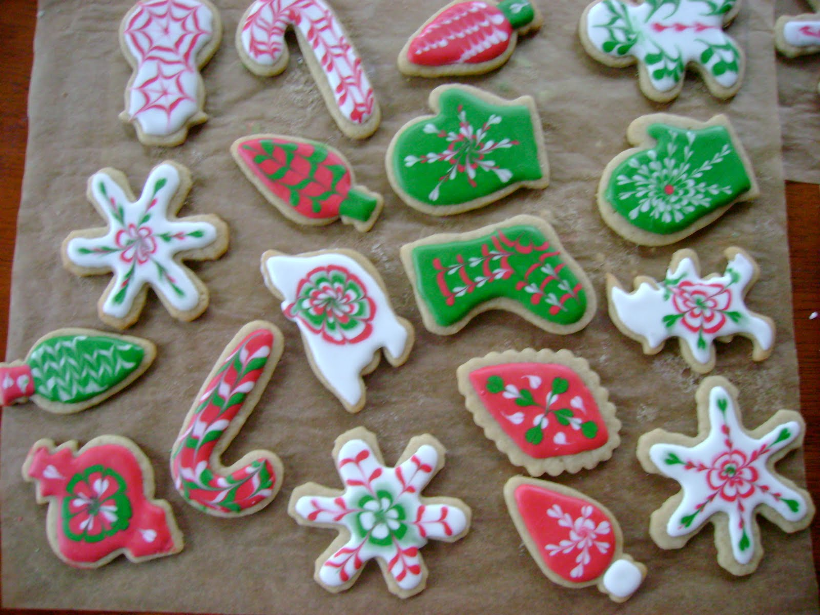 Mother's Kitchen: Gingerbread Cookies