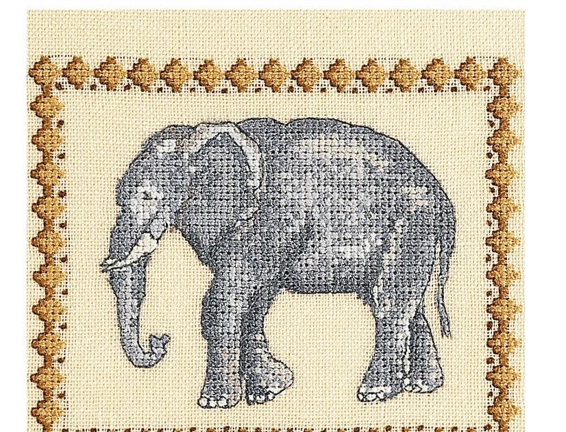 craftdrawer crafts free elephant cross stitch pattern