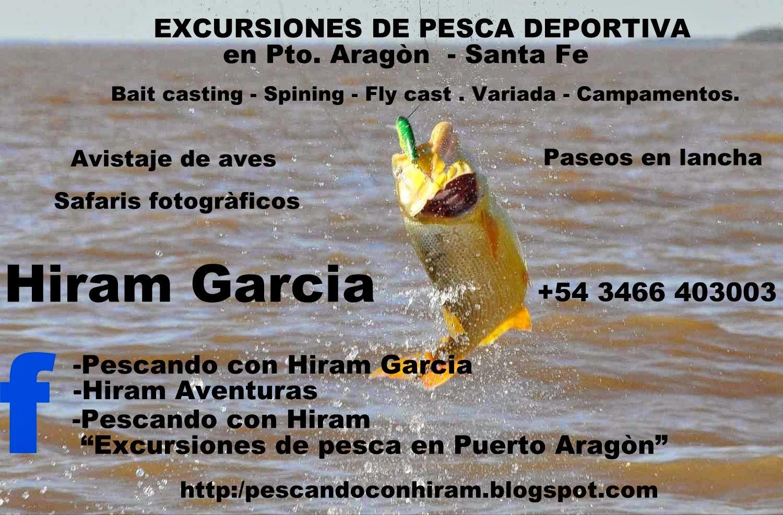 Salidas de pesca los 365 dìas del año...