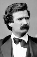 Mark Twain photo portrait, Feb 7, 1871