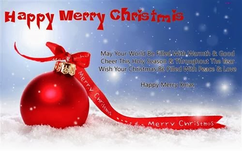 Beautiful Christmas Greeting Cards With Quotes 2013