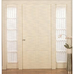 Curtain And Window Treatment Door Sidelight Curtain