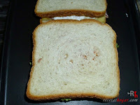 Sándwich especial de atún a la plancha