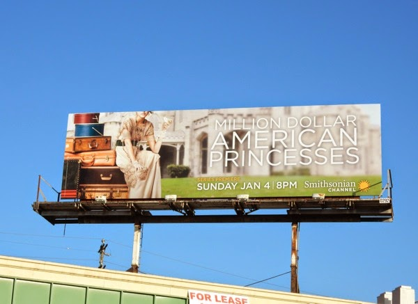 Million Dollar American Princesses series premiere billboard