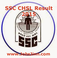 SSC CHSL Result 2015
