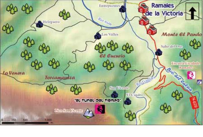 Cantabria oriental rural escalada alpina el tunel del tiempo en el pico san vicente - El tiempo en el valles oriental ...