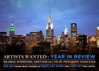 2012.NEW YORK. ARTISTS WANTED. ART TAKES TIMES SQUARE. USA.