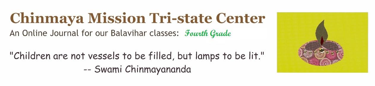 Chinmaya Vrindavan Fourth Grade