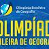 Chega ao fim a I Olimpíada Brasileira de Geografia