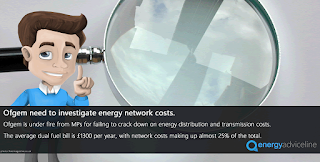 Ofgem need to investigate energy network costs