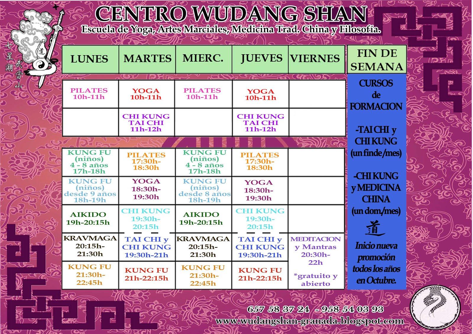 Horarios Curso 2017-2018
