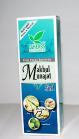 Krim Panas Berherba Makbul Munajat RM26.00