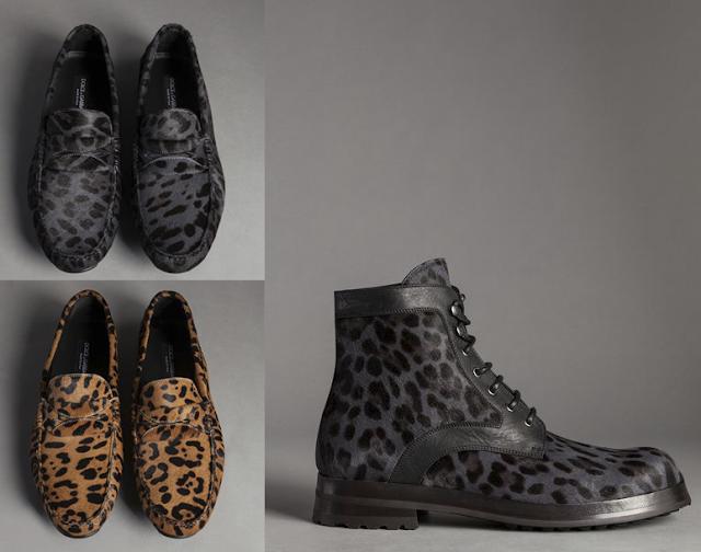 dolde gabbana pony leather leopard