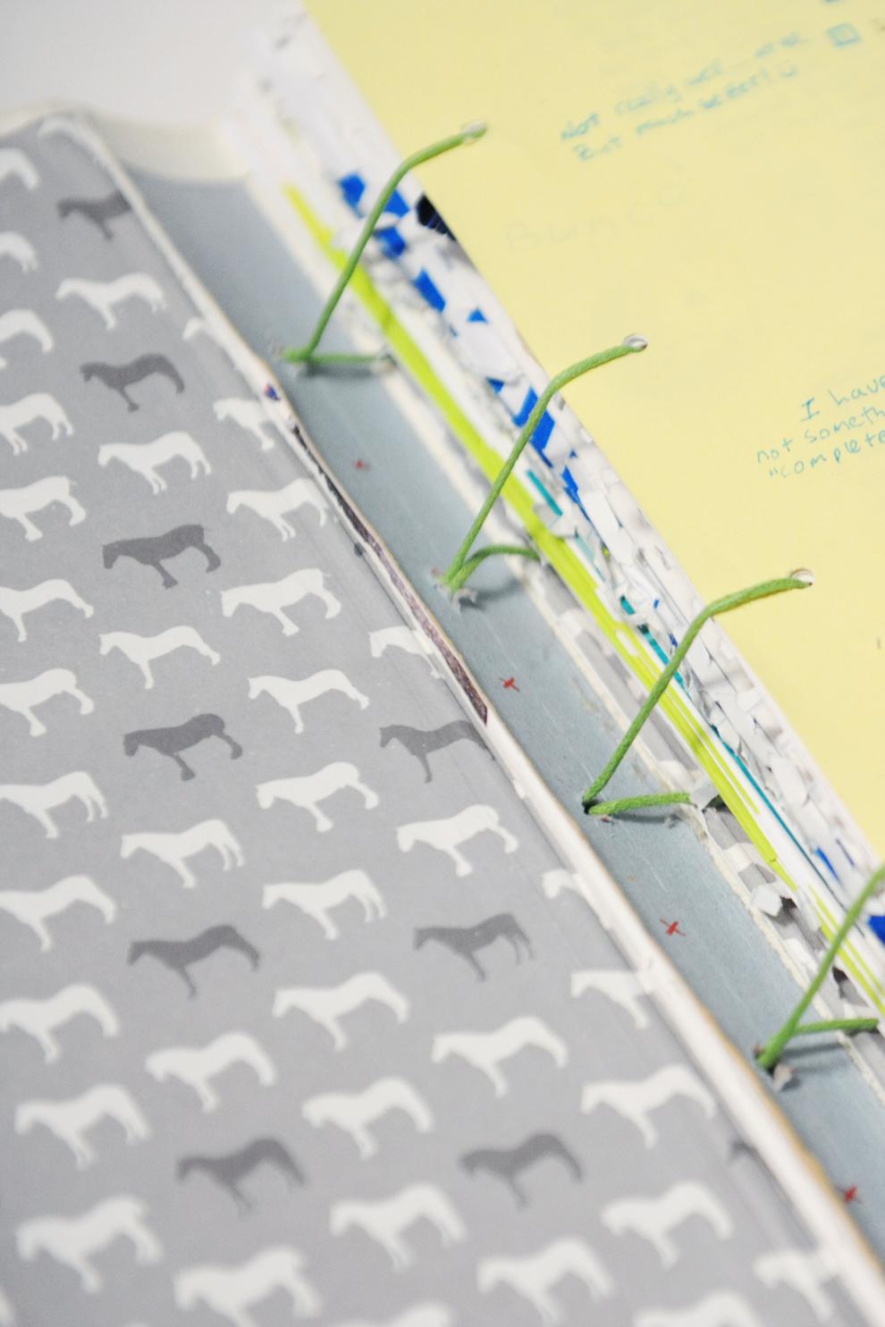 Paper raindrops finished art journal book binding diy solutioingenieria Images