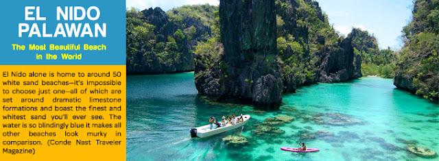 El Nido Palawan - Pilihan Destinasi Wisata Favorit di Filipina