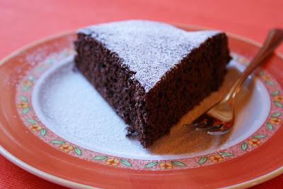 Torta lampo al cacao