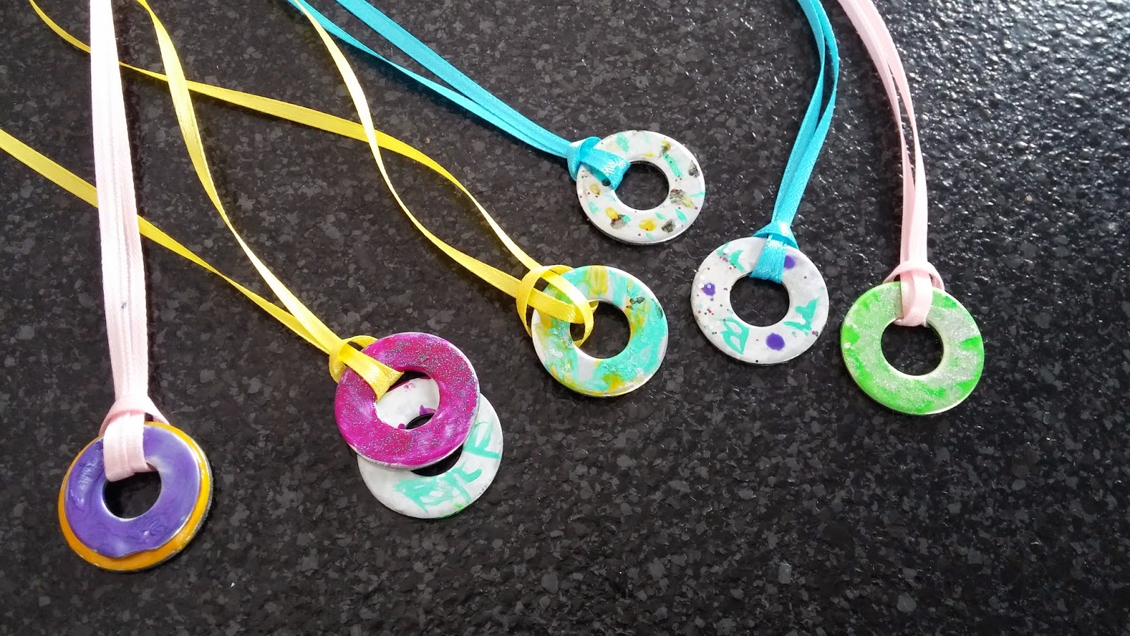 in shining armor diy washer necklaces