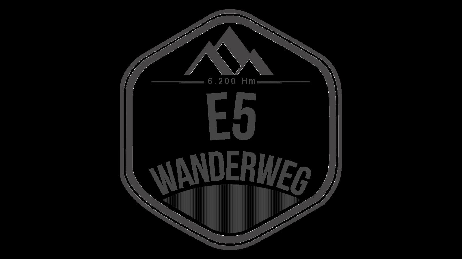 Wanderweg E5 Oberstdorf - Meran