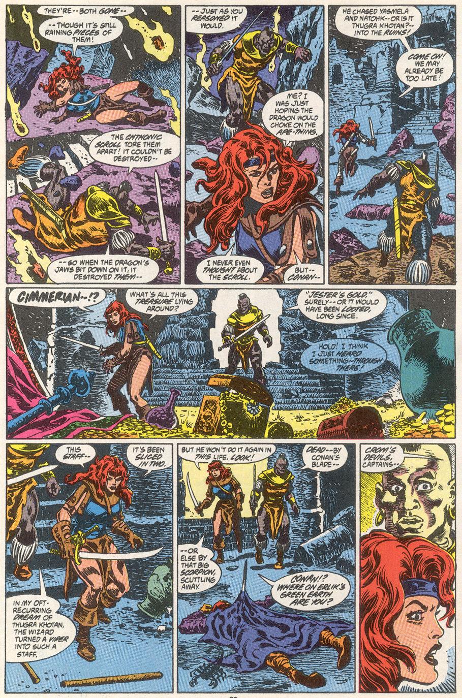 Conan the Barbarian (1970) Issue #249 #261 - English 22