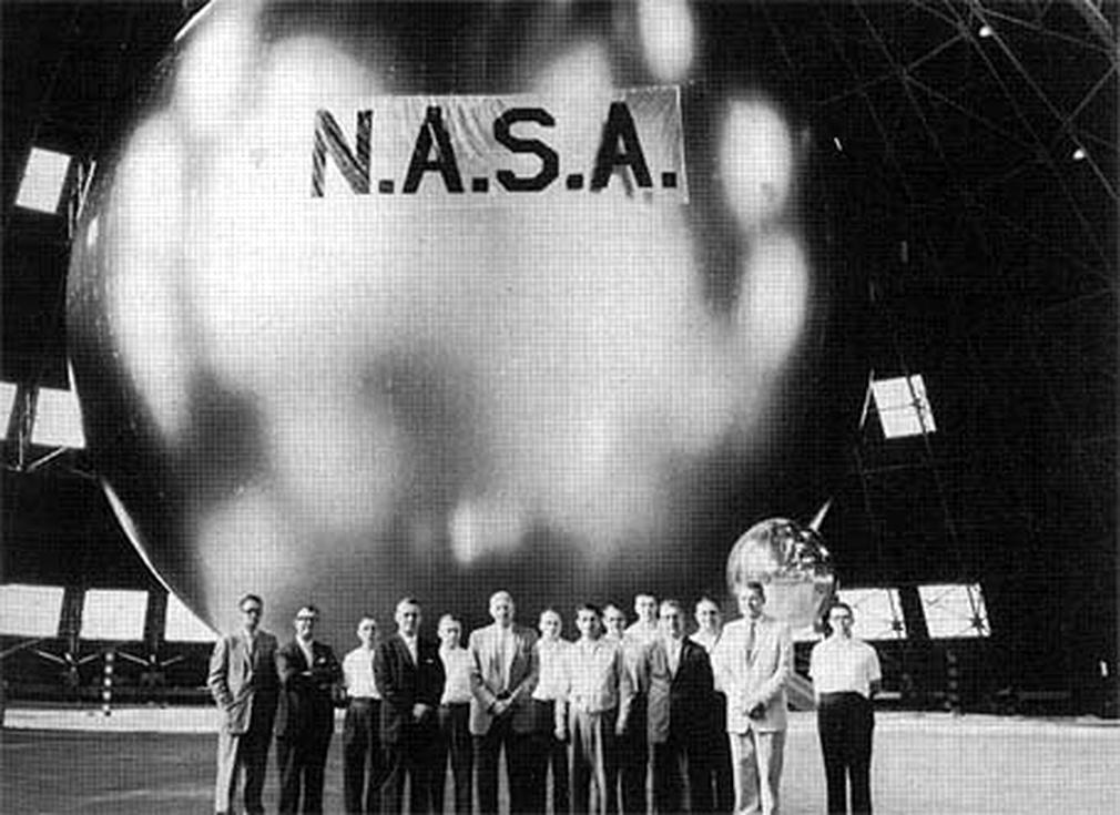 NASA's Echo 1 satellite