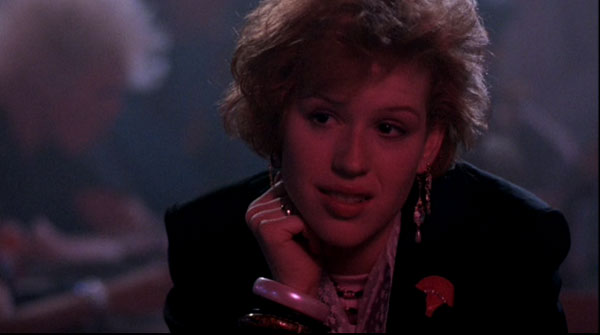 Pretty in Pink, starring Molly Ringwald