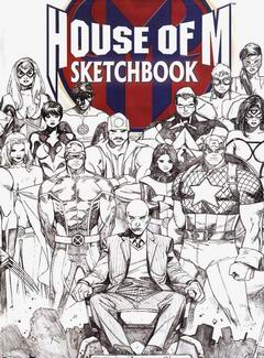 House of M Sketchbook, a collection of sketches