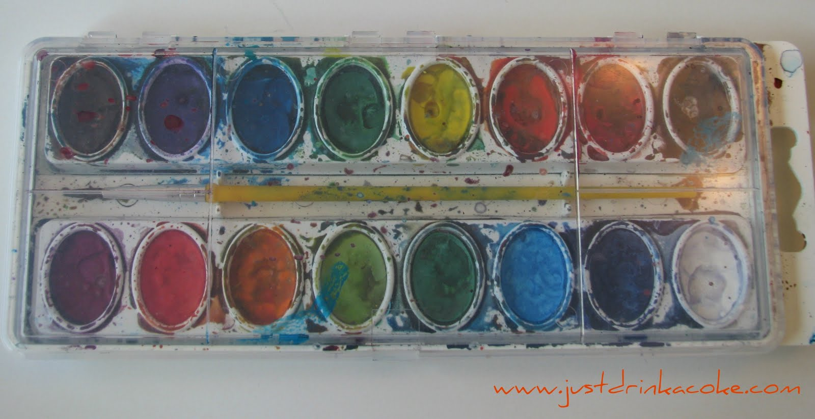 Water color paints how to use