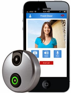 SkyBell Wi-Fi Video Doorbell with ios android application -Ezy4Gadgets