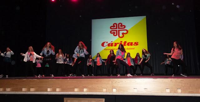 Gala benéfica Siero Baila por Cáritas baile moderno