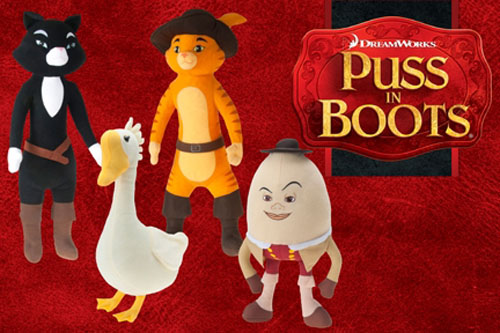 Puss In Boots Plush