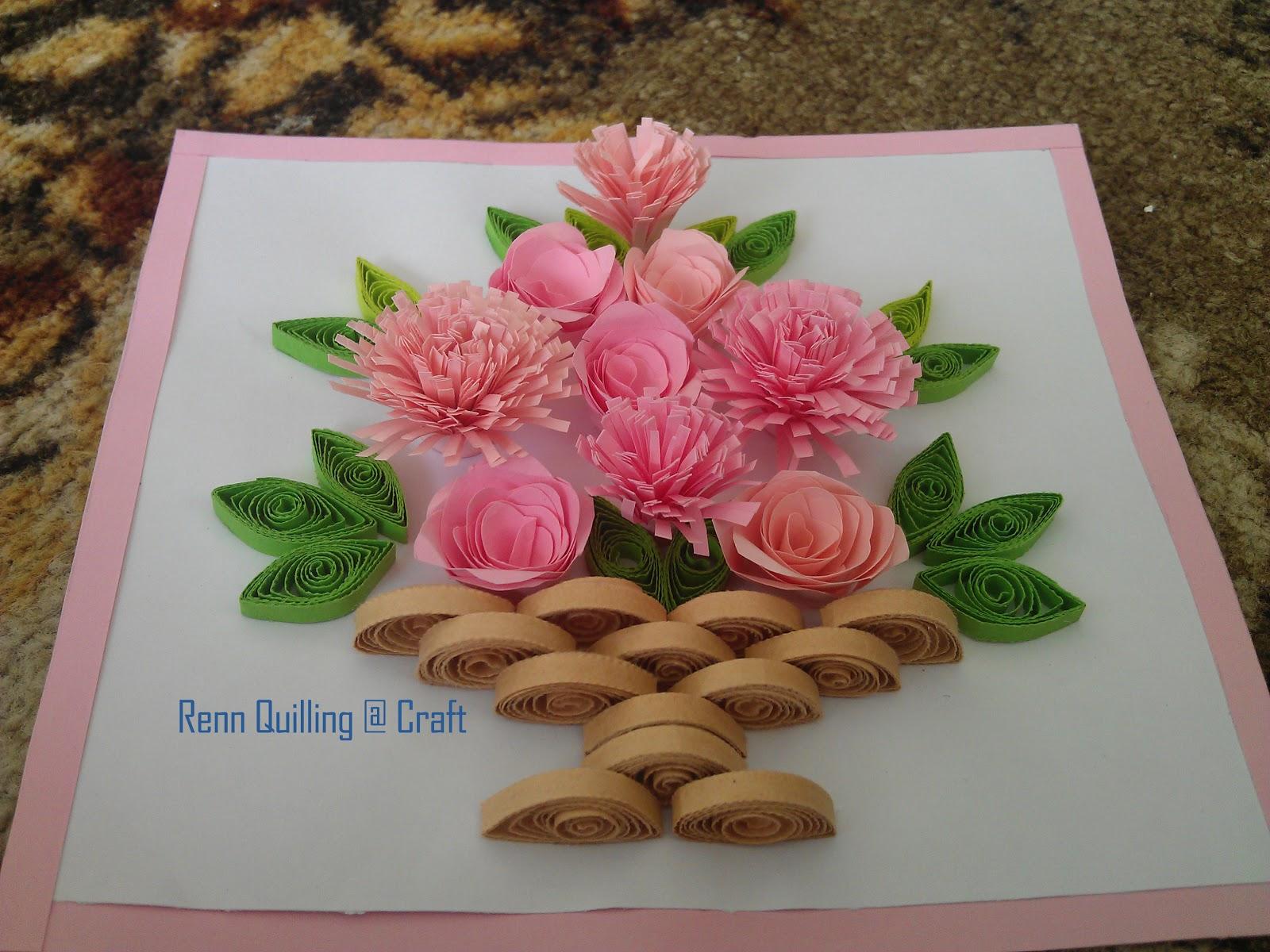 Paper Quilling Flower Basket Vatozozdevelopment