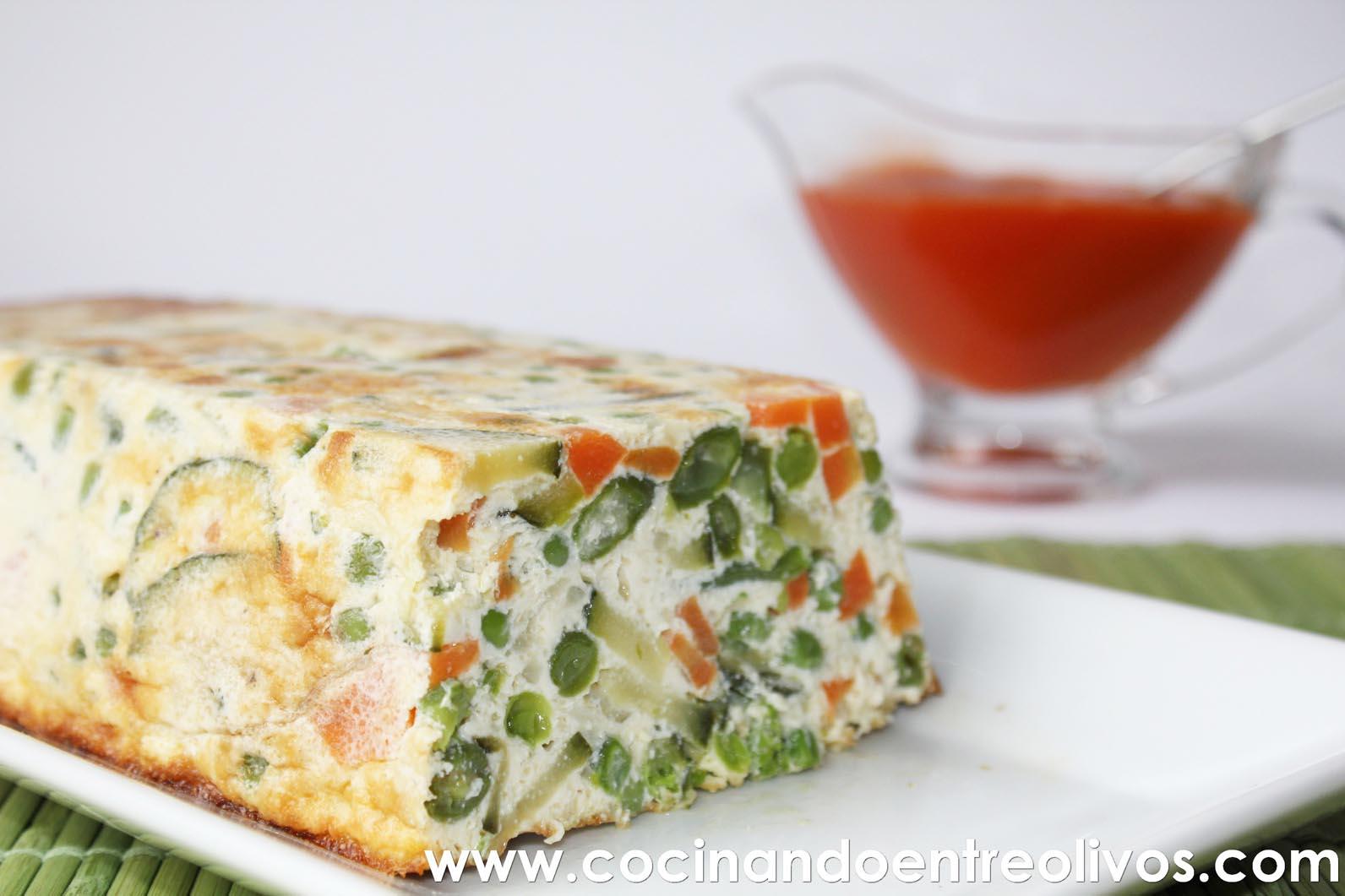 Cocinando entre olivos pastel de verduras receta paso a paso for Cocinar judias negras