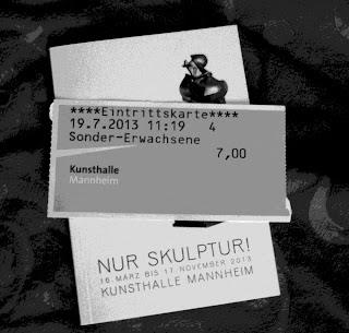 Nur Skulptur Eintrittskarte