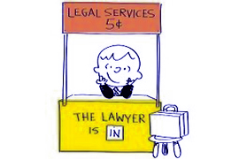 lawyer making legal will dcoument s in small boy kid stall with brief case cartoon animated peanuts charlie brown