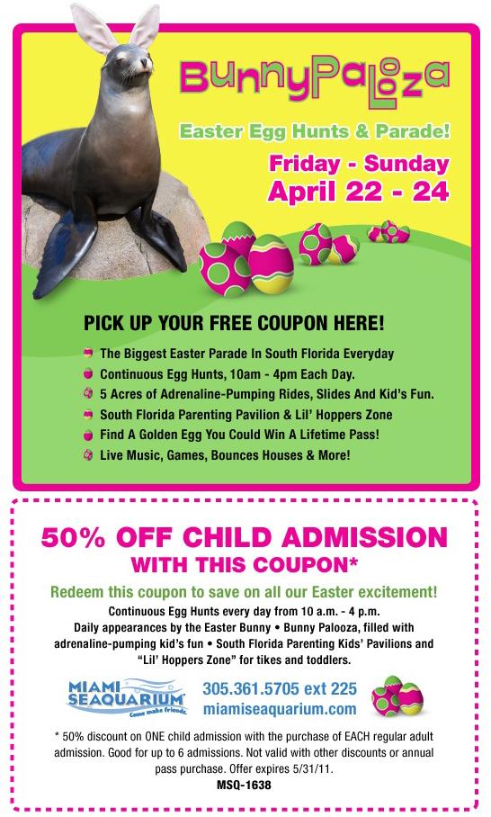 Miami seaquarium discount coupon