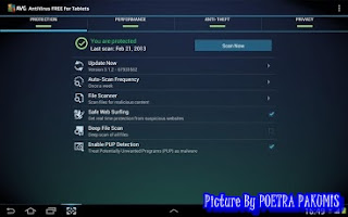 AVG Tablet Antivirus Android