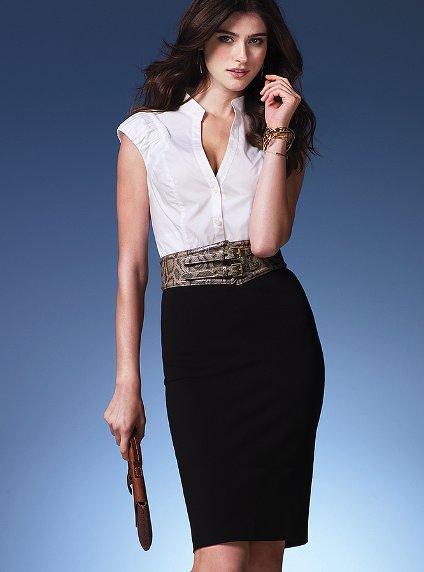 fashion tights skirt dress heels : Business woman look ...