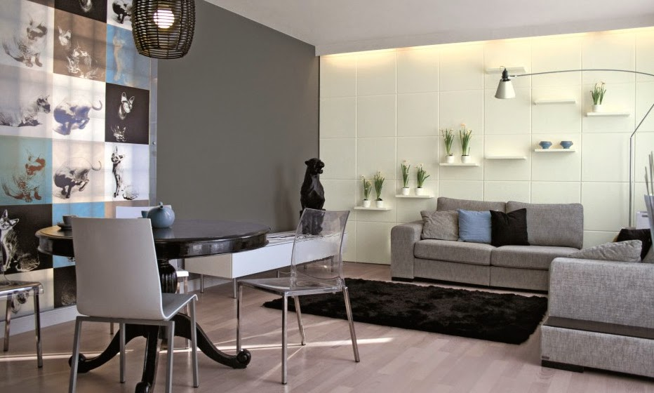 ideas de decoracin para salas en gris