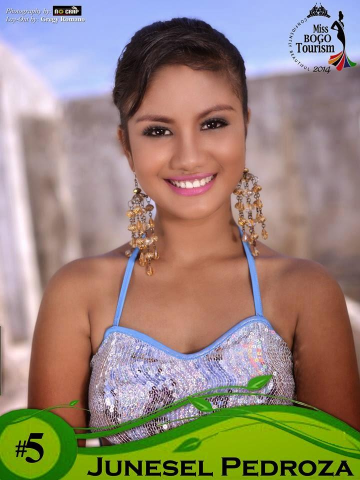 Junesel Pedroza  - Miss Bogo Tourism 201