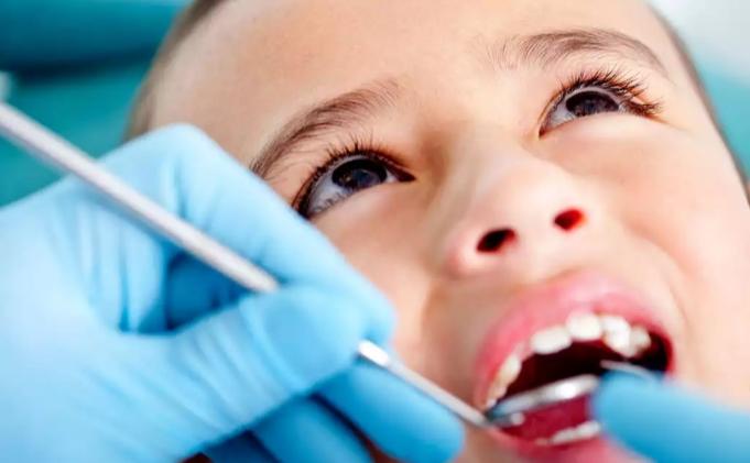 vaikui gydyti dantis