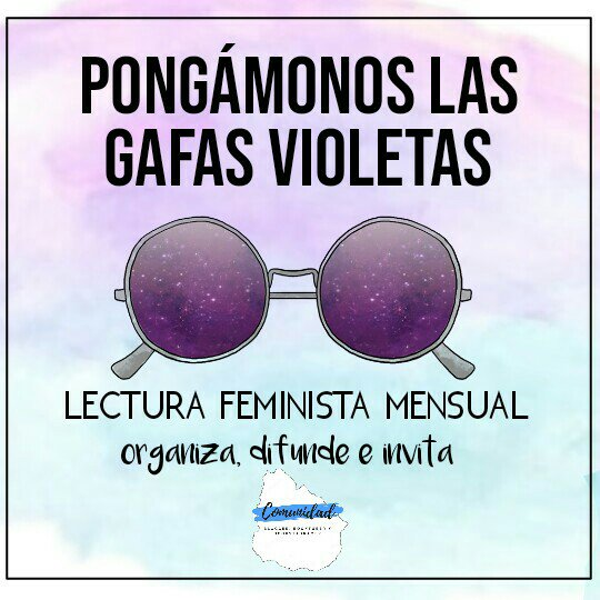 #LCGafasVioletas