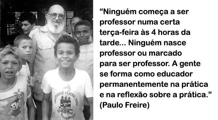 Alfabetização Na Idade Certa Refletindo Com Paulo Freire