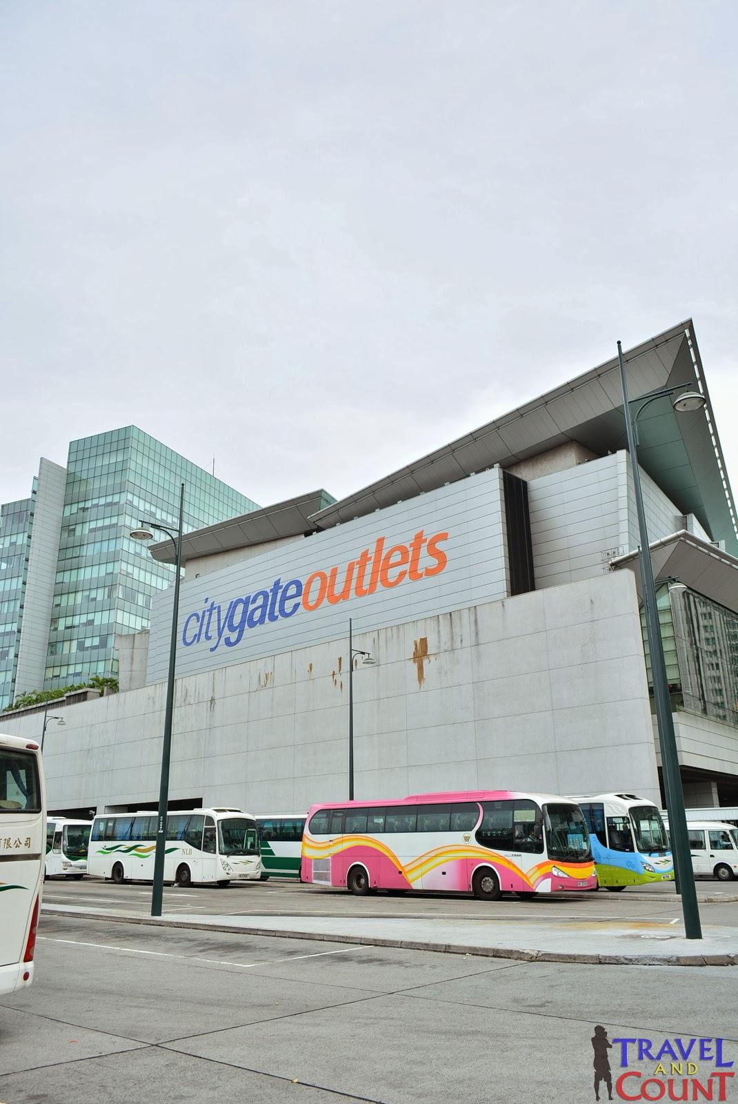 Citygate Outlets Tung Chung Hong Kong