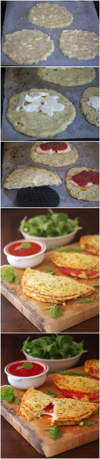 How To Make Cauliflower Crust Calzone